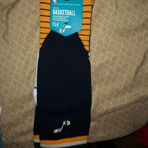 Utah Jazz stance socks